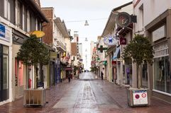 Placez St Jean, Le Touquet, France Photographie stock