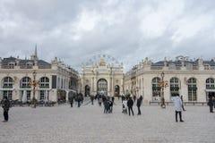 Placez Stanislas à Nancy photo libre de droits