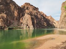 Colorado River in Grand Canyon National Park, Arizona. royalty free stock images
