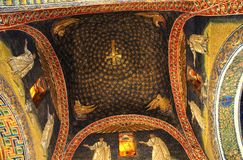 placidas för takgalla mausoleum Arkivbilder