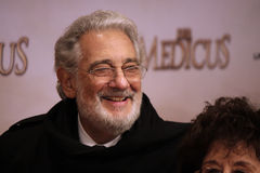 Placido Domingo Photo libre de droits