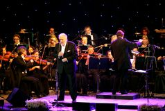 Placido Domingo performs at Bahrain Nov 29, 2012 Stock Image