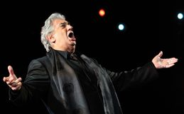 Placido Domingo Royalty Free Stock Photos
