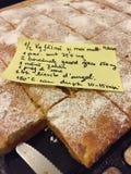 Placinta de dovleac,罗马尼亚南瓜饼 免版税库存照片