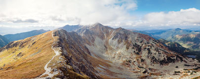 Placlive peak at Tatras Royalty Free Stock Photography