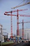 Placu budowy Binger ulica Mainz Fotografia Royalty Free