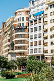 Placu Del Ayuntamiento Modernisme plac urząd miasta Walencja w Walencja Obraz Stock