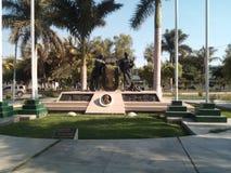 Placu Del Saber unprg Peru Zdjęcie Royalty Free