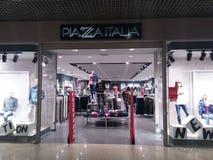 Placu Italia sklep Obrazy Royalty Free