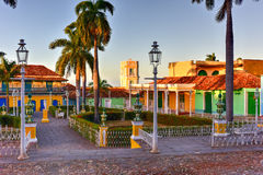 Placu Mayor - Trinidad, Kuba Zdjęcia Royalty Free