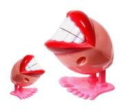 Pladdrande tandleksaker Royaltyfri Bild