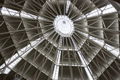 Plafond à la tour de Petronas Images libres de droits