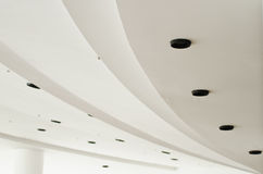Plafond blanc Photos libres de droits