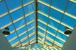 Plafond bleu dans le système Image libre de droits