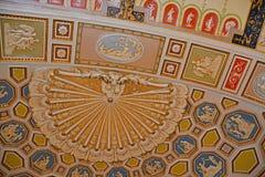Plafond in Broadmoor-Hotel, Colorado Springs, Colorado stock foto's