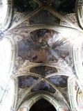 Plafond in cherch Stock Fotografie