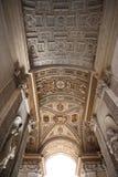 Plafond chez San Pietro Photographie stock libre de droits