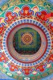 Plafond chinois de temple Image libre de droits
