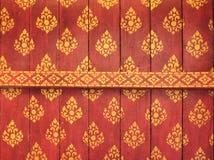 Plafond décoré de temple Photo stock