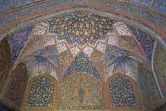 Plafond décoré fleuri Images stock