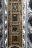 Plafond d'église Images libres de droits