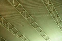 plafond d'aéroport Photographie stock libre de droits