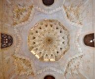 Plafond d'Alhambra Photo libre de droits