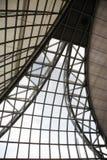 Plafond d'intérieur en métal Photo stock