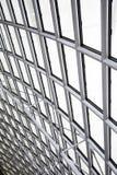 Plafond d'intérieur en métal Image libre de droits