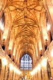 Plafond d'une église Photos libres de droits