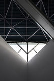 Plafond d'une construction industrielle. Photos libres de droits