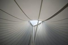 Plafond d'une structure moderne image libre de droits