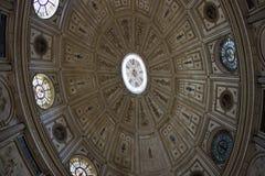 Plafond dans la cathédrale Photos libres de droits