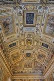 Plafond dans le musée de Vatican Image libre de droits