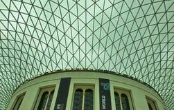 Plafond de British Museum Photo stock