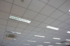 Plafond de bureau images libres de droits