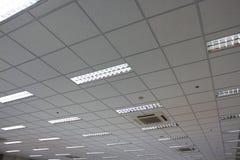 Plafond de bureau images stock