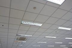 Plafond de bureau image libre de droits
