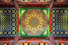 Plafond de caisson de musée de Nanjing images stock