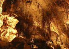 Plafond de caverne Image libre de droits