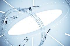 Plafond de centre commercial Photographie stock libre de droits