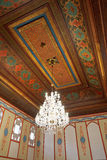 Plafond de Divan Chamber dans le palais de Khan, Crimée Photos stock