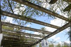 Plafond de galerie de jardin Photo stock
