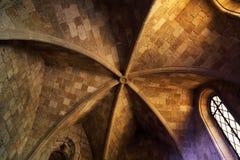 Plafond in de Kerk Royalty-vrije Stock Foto