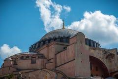 Holy basilica Sofía, Istambul - Turkey. Plafond de la basilique Sainte Sophie, Istambul - Turquie stock photo