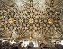 Plafond de la chapelle de chardon Photos stock