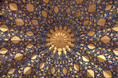 Plafond de mausolée d'Aksaray image libre de droits