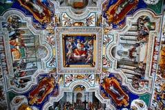 Plafond de musée de Vatican images libres de droits