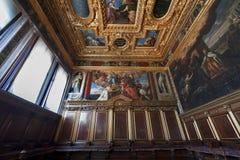 Plafond de palais de doge images stock