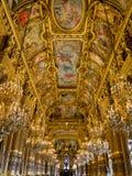 Plafond de Palais Garnier images libres de droits